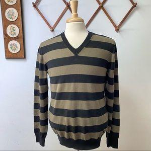 Burberry London Merino Wool Sweater Made In Italy